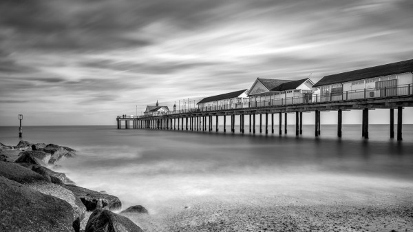 Southwold North of the Pier (2nd place)
