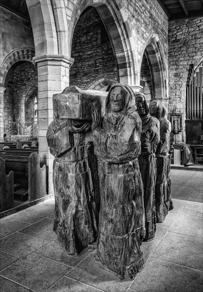 'The Journey' St Mary's Church, Lindisfarne (1st place)