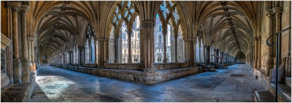 Norwich Cathedral Cloisters (Highly Commended)